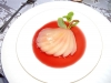 Cranberry Poached Pear