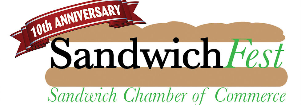 Logo for Sandwich Chamber of Commerce's SandwichFest