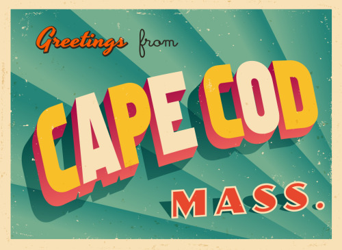 Greetings from Cape Cod card