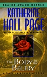 Photo of a cover of one of the Faith Fairchild series mystery books by Katherine Hall Page.