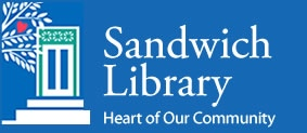 Logo and sign for the Sandwich MA public Library